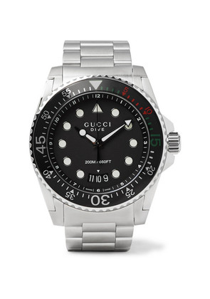 Dive 45mm Stainless Steel Watch