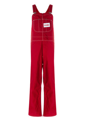 Napa By Martine Rose adjustable strap dungarees - Red
