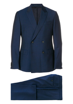 Boss Hugo Boss double breasted formal suit - Blue
