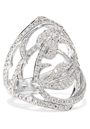 Stephen Webster - 18-karat White Gold Diamond Ring - 7