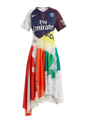 X Paris Saint-Germain patchwork dress