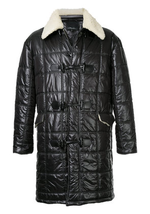 3.1 Phillip Lim faux shearling lined quilted coat - Black