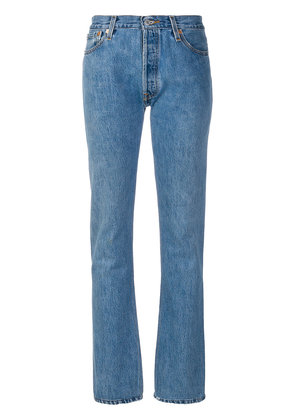 Re/Done Re/Done x Levi's straight leg jeans - Blue