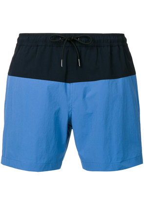 Theory Cosmos swim shorts - Blue