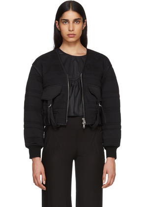 3.1 Phillip Lim Black Quilted Utility Jacket