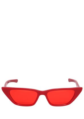 MOLLY ACETATE SQUARED CAT-EYE SUNGLASSES