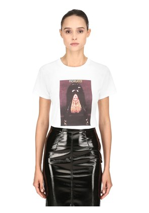 LEATHER GIRL HERITAGE JERSEY T-SHIRT