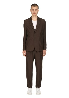 WASHED MULBERRY SILK SUIT