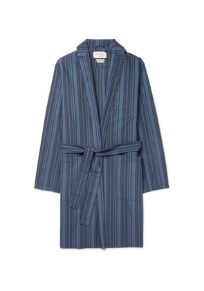 Farrow Striped Organic Cotton Robe