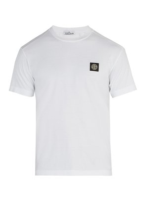 Logo-patch cotton T-shirt