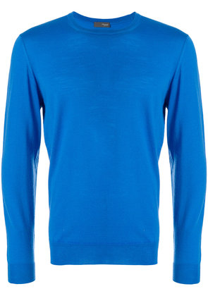 Drumohr perfectly fitted sweater - Blue