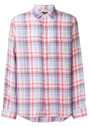 Michael Michael Kors casual plaid shirt - Blue