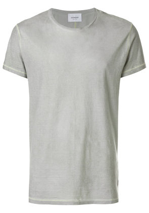 Dondup contrast stitch T-shirt - Grey