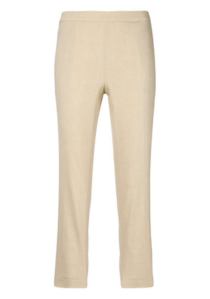 Theory cropped skinny trousers - Nude & Neutrals