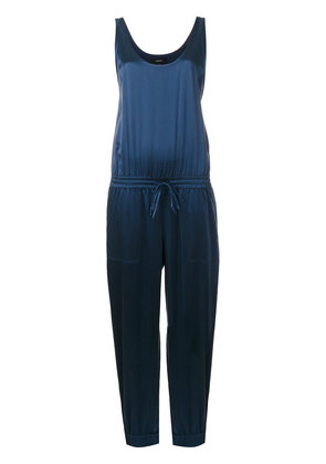Theory scoop neck jumpsuit - Blue