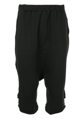 First Aid To The Injured Pharynx shorts - Black