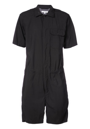 Engineered Garments short fitted jumpsuit - Black