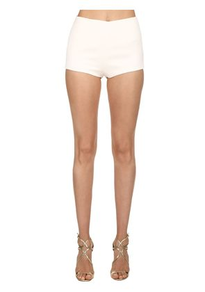 SILK LACE MINI SHORTS