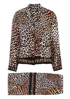 Rockins leopard print set - Brown
