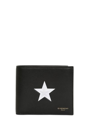 EMBOSSED STAR CLASSIC WALLET