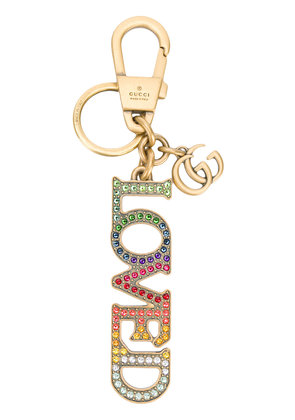 Gucci LOVED keychain - Multicolour