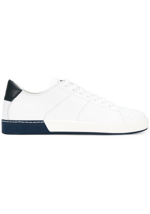 Jil Sander panel contrast low top sneakers - White