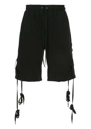 D.Gnak X-string shorts - Black