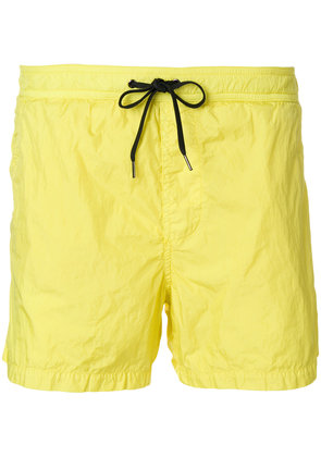 Dondup plain swim shorts - Yellow & Orange