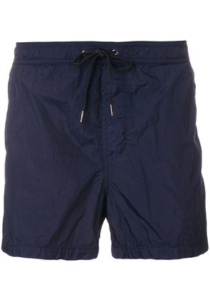 Dondup plain swim shorts - Blue