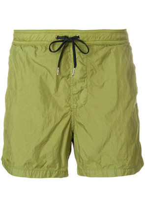 Dondup plain swim shorts - Green