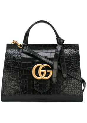 Gucci GG Marmont top handle bag - Black