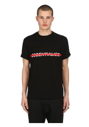 LOOSE FIT ESSENTIALISM JERSEY T-SHIRT