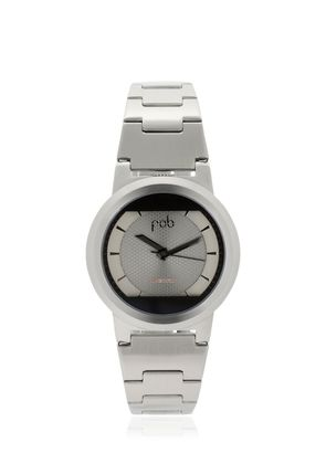 LIMITED EDITION RED SOLAR SILVER WATCH