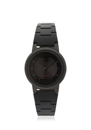 LIMITED EDITION RED SOLAR BLACK WATCH