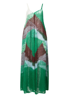 Jil Sander knitted dress - Green