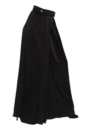 HIGH WAISTED SATIN PALAZZO PANTS