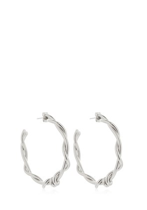 MODERN TWIST SMALL HOOPS