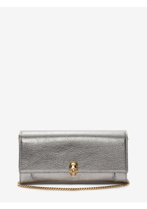ALEXANDER MCQUEEN Wallets with chain - Item 45407618