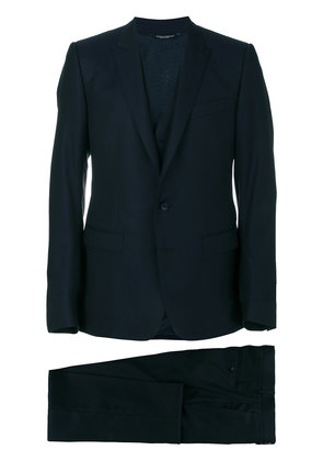 Dolce & Gabbana three piece dinner suit - Blue