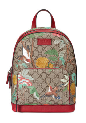Gucci Gucci Tian GG Supreme backpack - Nude & Neutrals