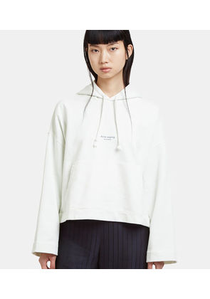 Hooded Cropped Joggy Sweatshirt