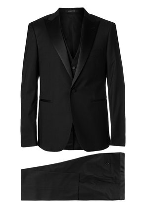 Tagliatore classic dinner suit - Black