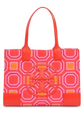 MINI ELLA PRINTED CANVAS TOTE BAG