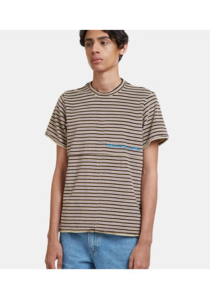 Lapped Striped T-Shirt
