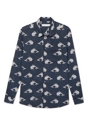 Printed Cotton Pyjama Shirt