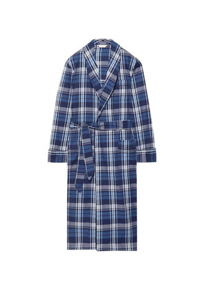 Ranga 31 Checked Cotton Robe