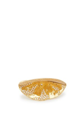 Co-exist 18kt gold & diamond ring