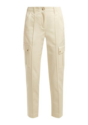 Avril gabardine cargo trousers