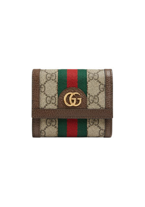 Gucci Ophidia GG wallet - Nude & Neutrals