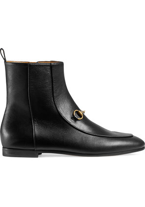 Gucci Gucci Jordaan leather ankle boot - Black